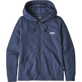 Patagonia W's Pastel P-6 Label Ahnya Full-Zip Hoody Stone Blue
